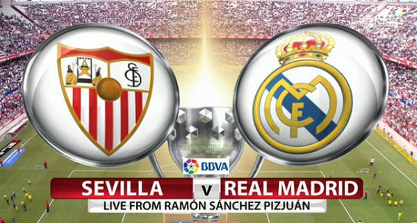 Link Sopcast: Sevilla vs Real Madrid, 03h00 ngày 27/09