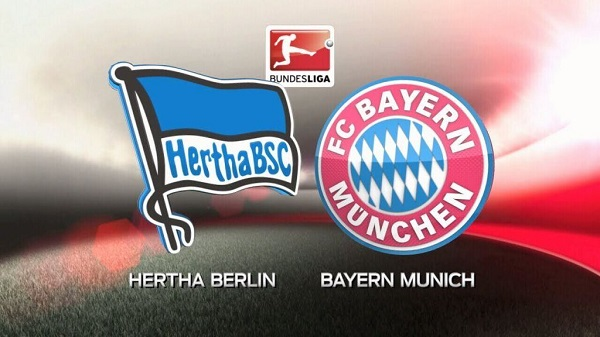 Link Sopcast: Hertha Berlin vs Bayern Munich