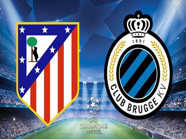 Link Sopcast: Atletico Madrid vs Club Brugge