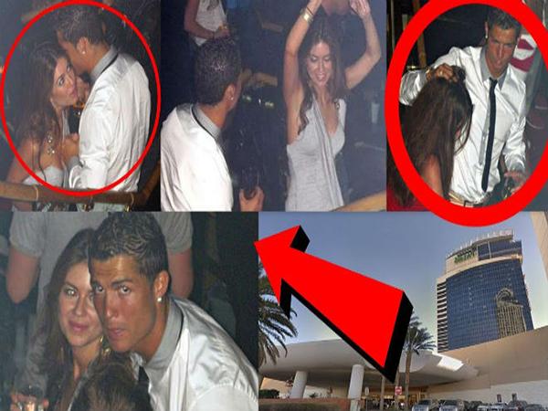 Ronaldo tình tứ bên Kathryn Mayorga