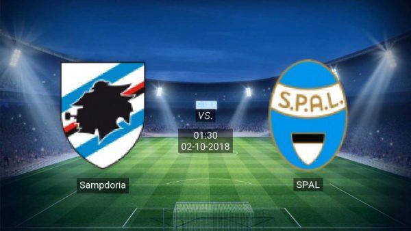 Link Sopcast: Sampdoria vs Spal