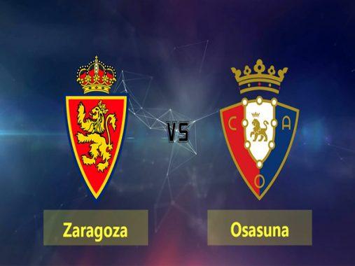 Link Sopcast: Zaragoza vs Osasuna, 02h00 ngày 09/10