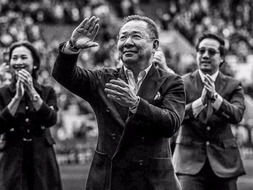 Chủ tịch Leicester City ra đi, thế giới bóng đá khóc thương