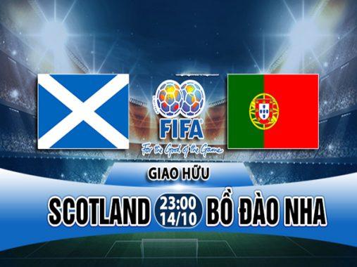Link sopcast: Scotland vs Bồ Đào Nha 23h00 ngày 14/10