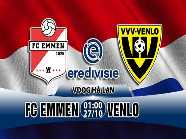 Nhận định Emmen vs Venlo