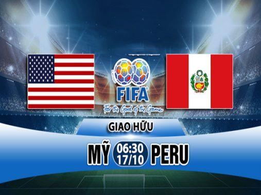Nhận định Mỹ vs Peru 6h30 ngày 17/10: Giao hữu quốc tế