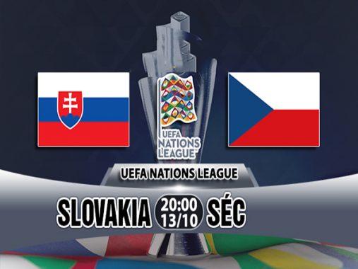 Nhận định Slovakia vs Séc, 20h00 ngày 13/10: UEFA Nations League