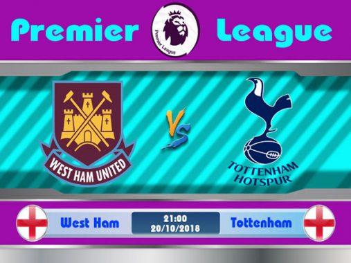 Nhận định West Ham vs Tottenham 21h00 ngày 20/10