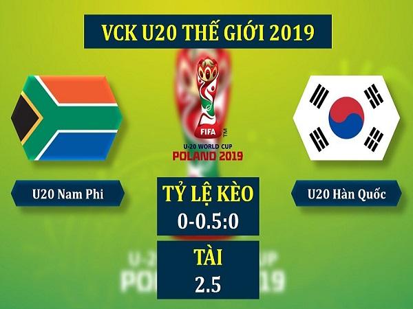 Dự đoán U20 Nam Phi vs U20 Hàn Quốc, 1h30 ngày 29/05