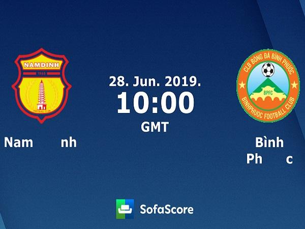 Nhận định Nam Định vs Bình Phước, 17h00 ngày 28/06