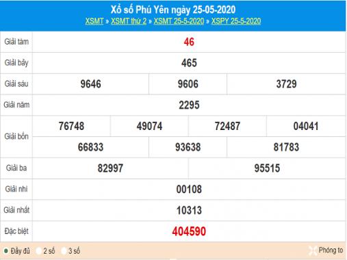 Phân tích kqxs Phú Yên ngày 1/6/2020, chốt số dự đoán