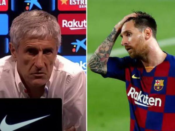 Barca khi nào sẽ trảm tướng khi Messi công kích