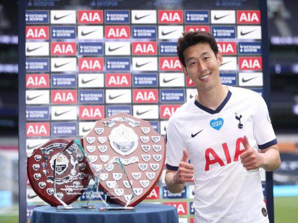 Son Heung-min giành cùng lúc 4 danh hiệu cá nhân