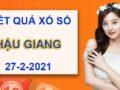 Phân tích KQXS Hậu Giang thứ 7 ngày 27/2/2021