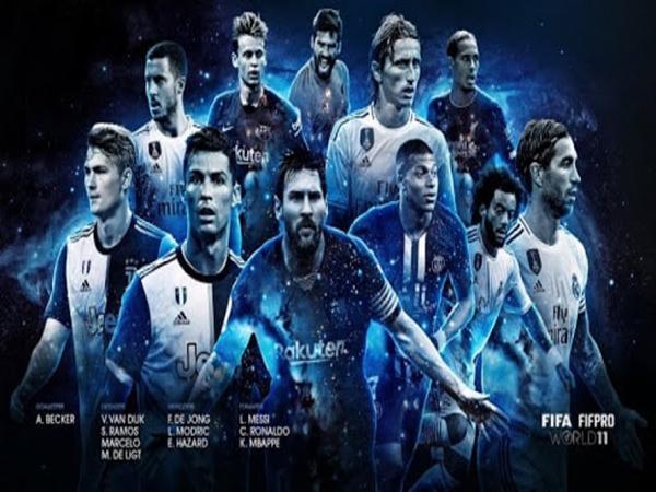 11 cầu thủ trong đội hình mạnh nhất thế giới hiện nay được FIFA công bố.