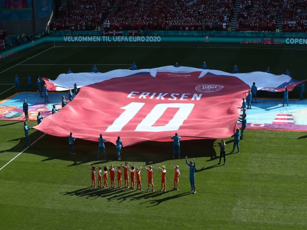 Tin thể thao tối 18/6: Eriksen nhắn tin khen cầu thủ Đan Mạch