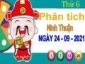 Phân tích XSNT ngày 24/9/2021 đài Ninh Thuận thứ 6 hôm nay chính xác nhất